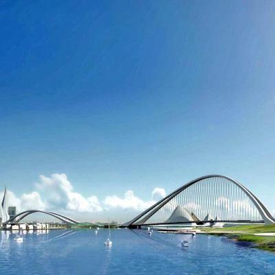 Dubay proyecta construir el puente arco más largo del mundo