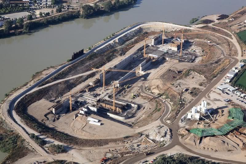 Construcci n de la nueva esclusa en el puerto de sevilla - Empresas de construccion en sevilla ...