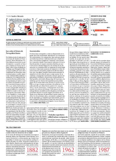 Ingenieria en la Red - La Voz de Galicia Marta Serrano