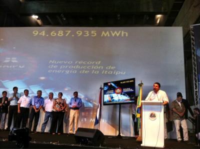 Ingenieria en la Red - Presa Itaipu Record Mundial
