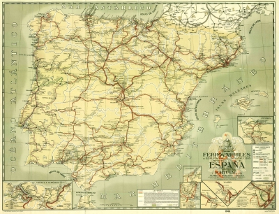 Ingenieria en la Red - Mapa Forcano 1948