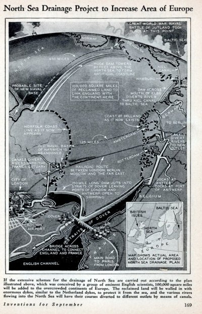 Ingenieria en la Red - North Sea Drainage Project 1930