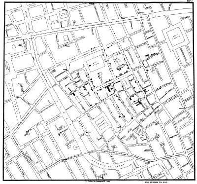 Ingenieria en la Red- Snow Cholera Map