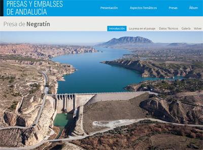 Ingenieria en la Red - Presas y embalses de Andalucia